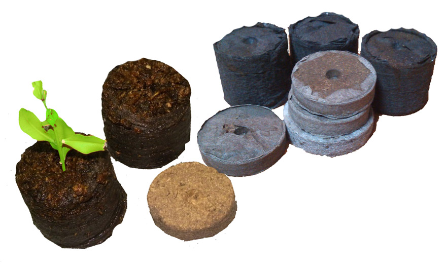 Peat tablets machine