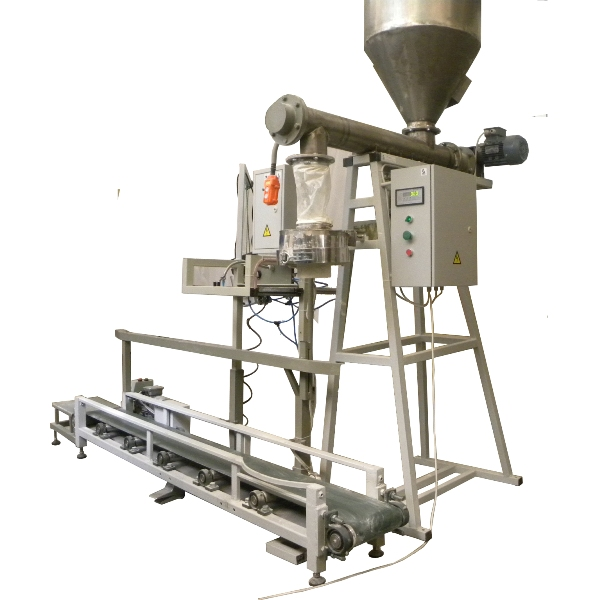 Powder filling equipment (powdered milk, food additives, building mixes, feed for animals)